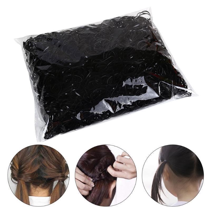 Pack Disposable Tpu Fashion For Kids Mini Elastic Hair Band Girls