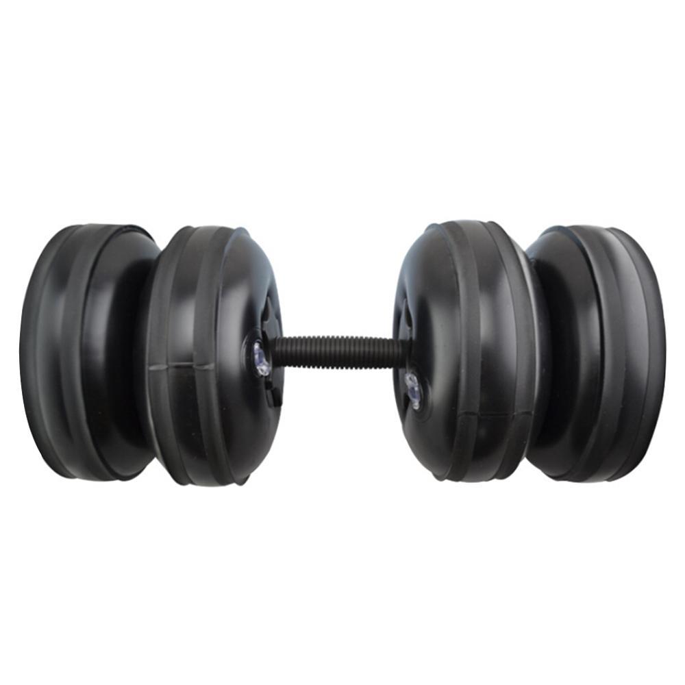 20-25KG Água-cheia Dumbbell Fitness Equipment braço treinamento muscular fitness ajustáveis convenientes Dumbbells injeção de água para homens
