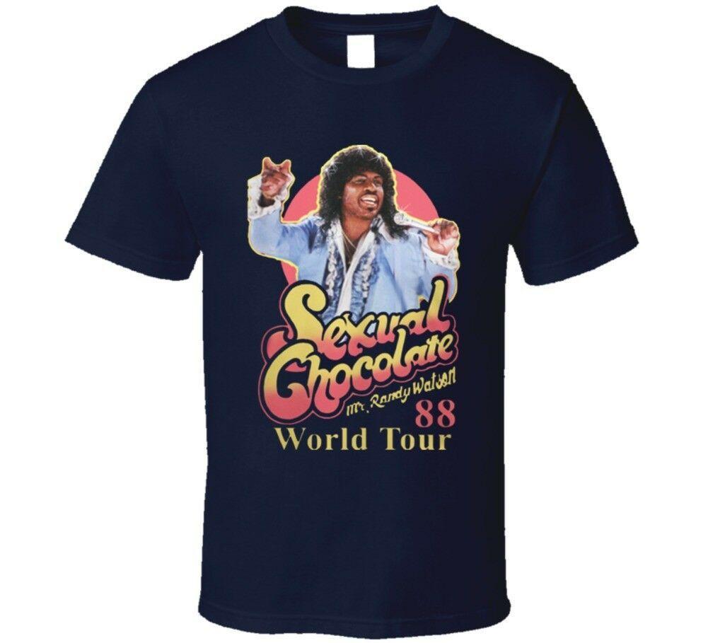 Sexual Chocolate 88' World Tour Randy Watson Murphy Movie T Shirt