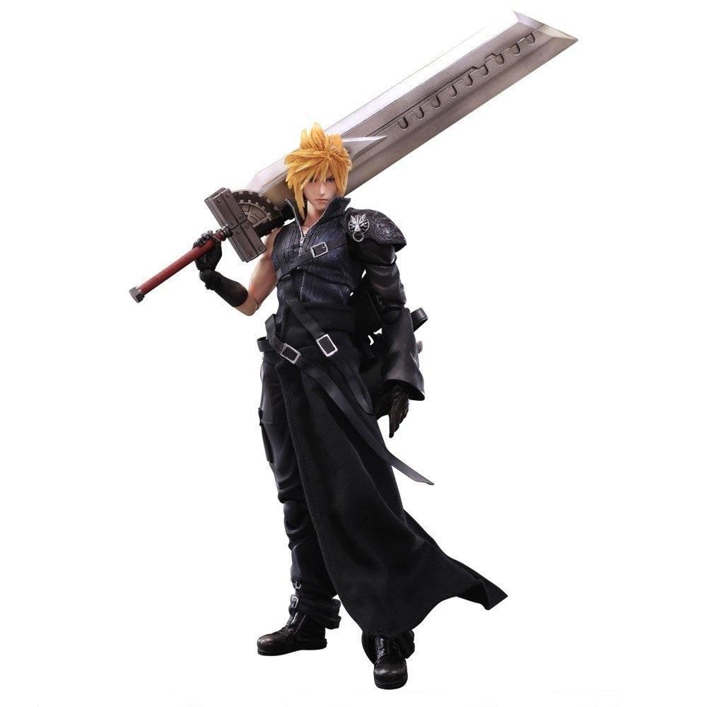 Final Fantasy Fantasy VII Advent Children PLAY ARTS PA Cloud Animation Figure 28cm 1/7 Scale