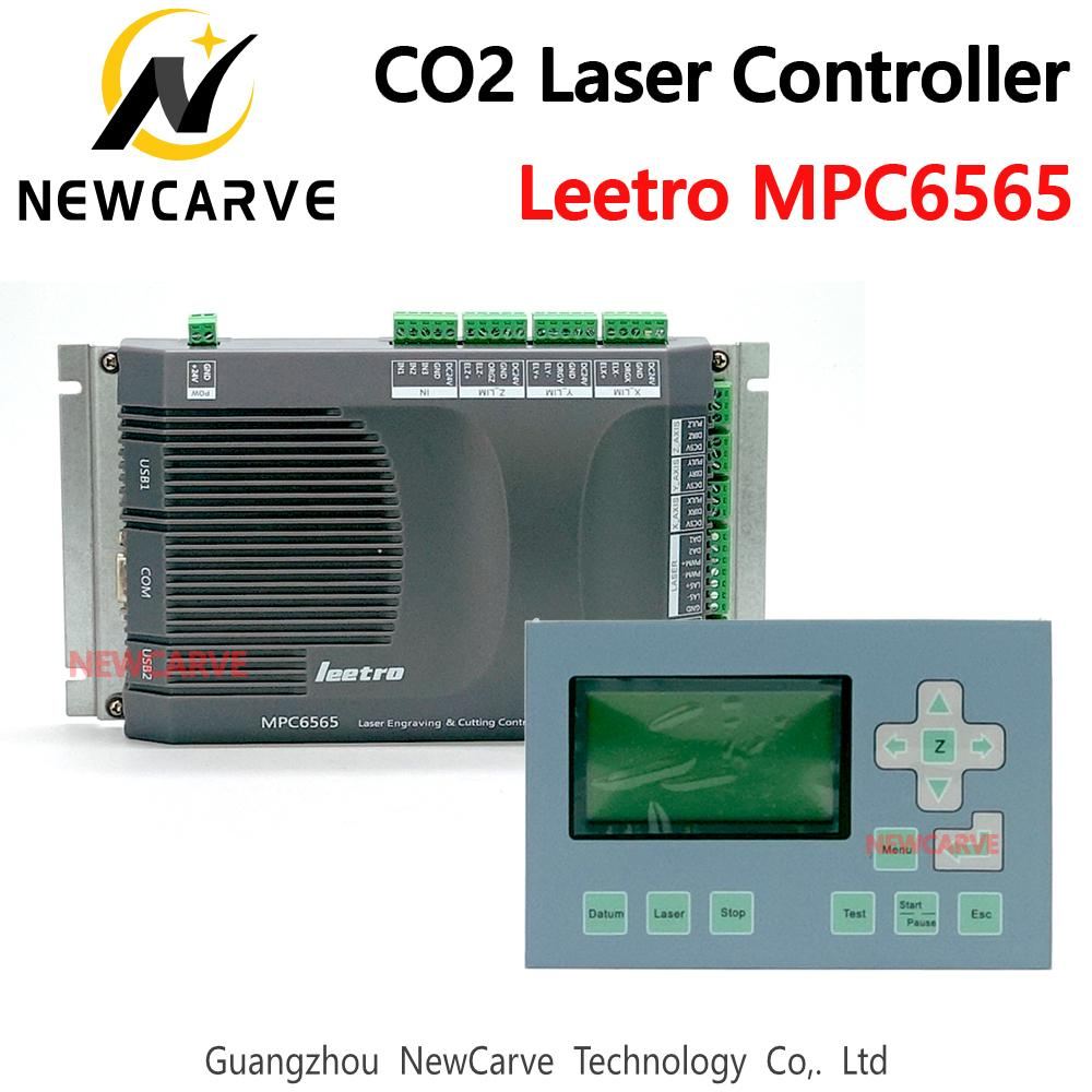 Leetro MPC 6565 Laser DSP Controller 3 Axis Motion для лазерной резки CO2 модернизирован от MPC 6535 NEWCARVE