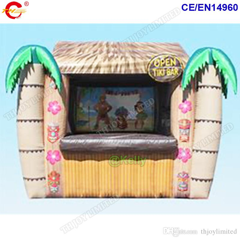 4x3m открытой портативной западной надувных Тики бар партия надувной паб палатка горячая продажа надувной пляжный бар палатка для продажи