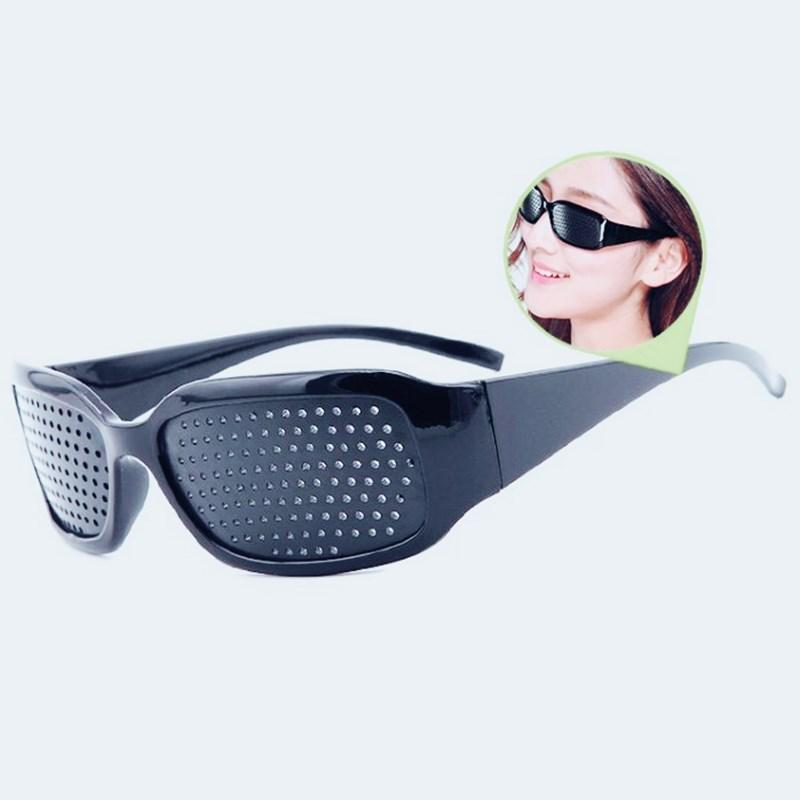 Cycling Eyewear Pin Hole Sunglass Eye Training Glass Pinhole Glasses Camping Unisex Eyeglasses Exercise Outdoor Sport Eyesight