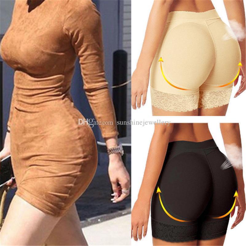 Offerte Body Shaper signore nero nudo Butt Lift Mutandine Hot Pants Shapers donna Butt Lifter Trainer Sollevare Butt e Hip Enhancer Panty