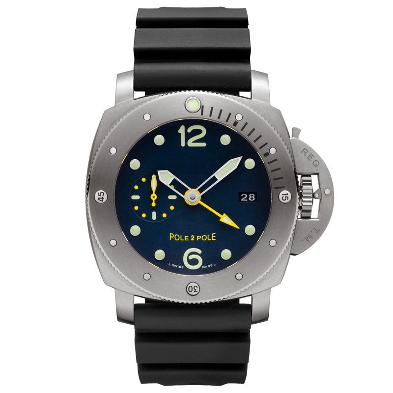 Neue Top-Männer beiläufige Art und Weise wasserdichte Uhren Männer automatische mechanische Edelstahl-Uhr-Mann-Militär Relogio Masculino