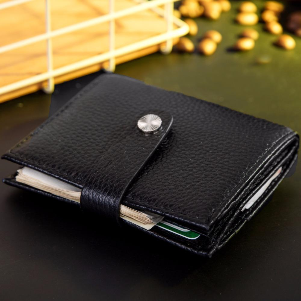 RROVE Clip de Dinero Acero Inoxidable Slim Clip de Dinero de Doble Cara Monedero Monedero Billetera Portatarjetas de cr/édito Negro