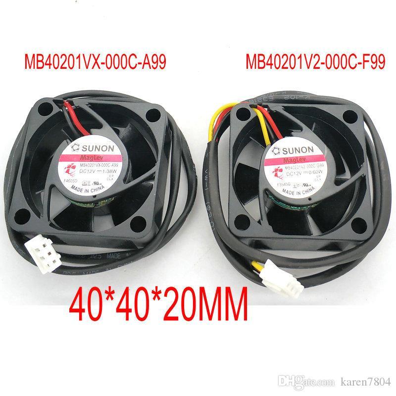 MB40201V2-000C-F99 0.6W MB40201VX-000C-A99 4020 12v 1.38w ventola di raffreddamento di 40 * 40 * 20mm
