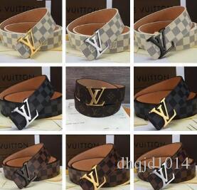 2018 Design Belt Cintura in pelle per uomo e donna Cintura in pelle per donna Oro argento e fibbia nera