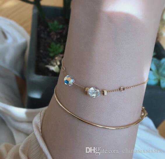 Novas descobertas jóias chegada de prata esterlina prata pura Japão e Coreia do estilo perfeito neutro pulseira de design único imensamente popular