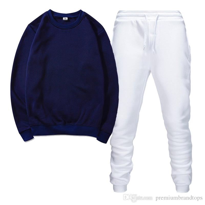 Chándal para hombre de alta calidad Trajes deportivos Trajes de jogging de hombres para hombre Suéteres Spring Otoño Casual Sportswear Establece la ropa hacia afuera