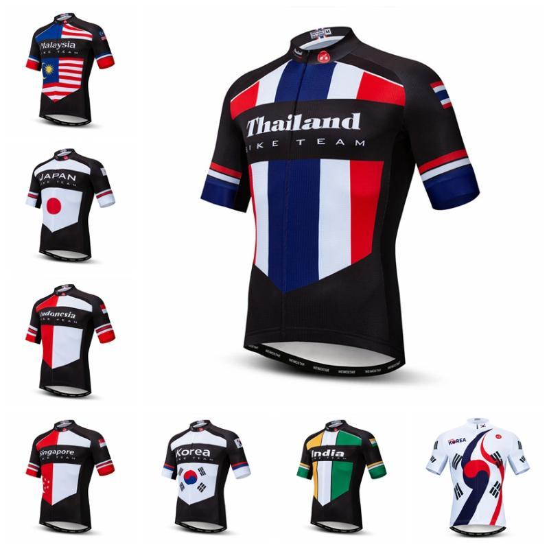 2020 Cycling Jersey Men Bike Jerseys Bicycle Tops Ropa Ciclismo mtb Mountain Shirt cycle jersey Thailand Japan Korea Indonesia