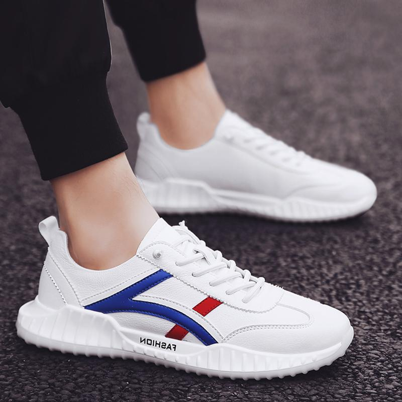 D151 2019 modelli nuova esplosione degli uomini bassi di scarpe casual consentire a Trend scarpe selvatici confezione originale scatola di capelli di consegna Men Shoes PU casual