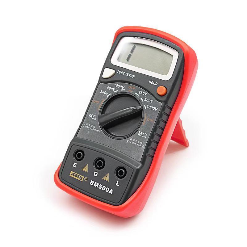 Direct Deal 1000v Bm500a 1999m Digital Insulation Resistance Tester Meter Megohmmeter Megger #d6309# T8190619