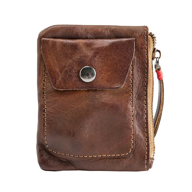 2020 Moda homens carteira de couro lazer carteira mulheres carteiras de couro genuíno para os titulares de cartão de homens bolsa C6056 livre
