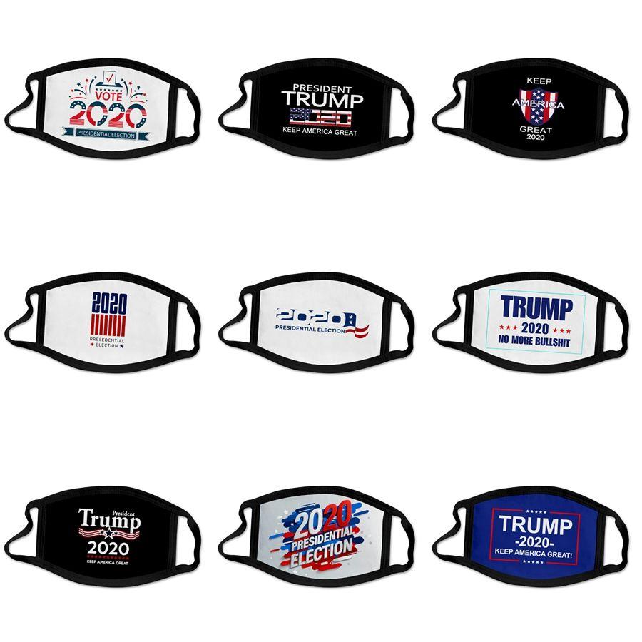 Preto Anti Poeira máscara PM2.5 Respirar filtro Máscaras Válvula face Boca Designer Trump er reutilizável Anti embaçamento Homens Mulheres # 516