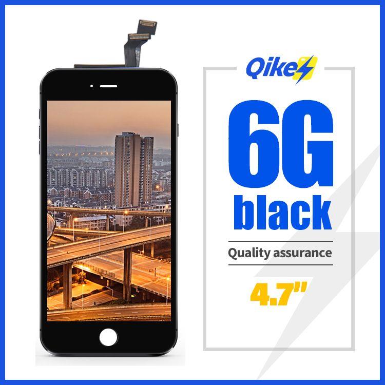 Promoción negro LCD para iPhone 6 pantalla táctil del reemplazo para el iPhone 6 AAA