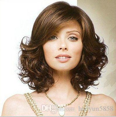 new short curly womens Hair Wig Fashion daily life Wig for women wig Free deliver