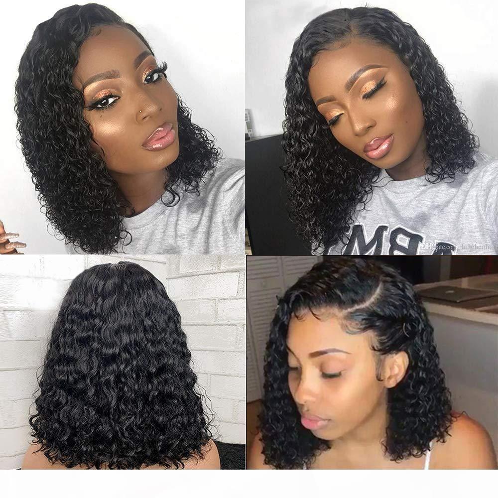360 человеческих волос для шнурка Фронтальной парики с ребенком волос Черных Женщин Glueless Бразильской волна воды Pre щипковых фронт шнурок парики