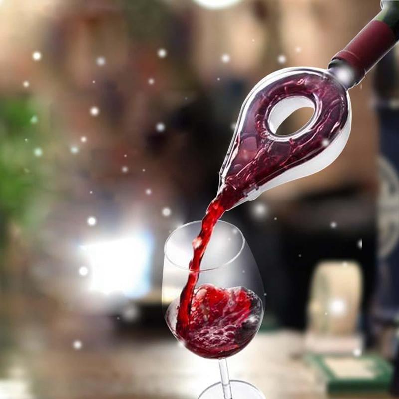 Vino Decanter magico del decantatore essenziale vino rapida aeratore Versare Filtro becco Decanter Mini Wine Travel Air Intake Pour