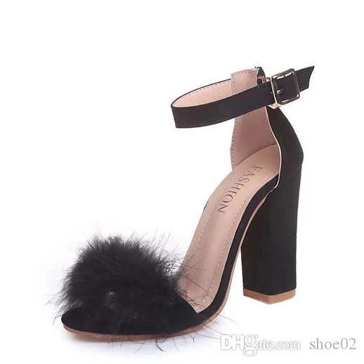 С коробкой женщина тапочки каблуки обувь сандалии натуральная кожа высокое качество тапочки мода потертости тапочки Повседневная обувь Бесплатная доставка DHL PT617