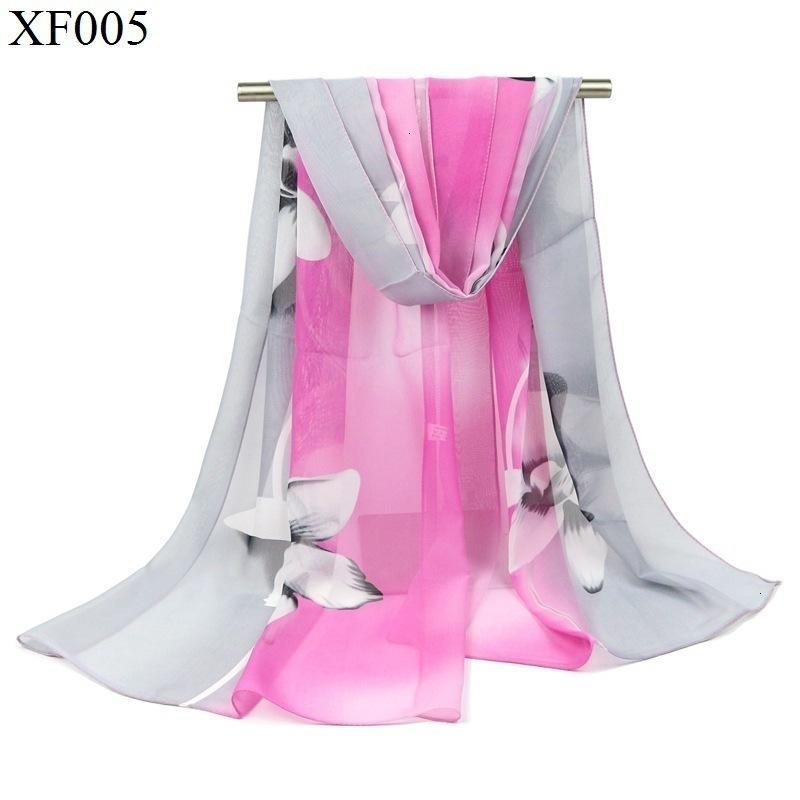 İpek Eşarp Lily Will Çiçek Baskı Kademeli Değişim Renk Eşarp Hanımefendi Aksesuarları İpek Eşarp Yıllık Toplantısı Hediye Taobao Hediye