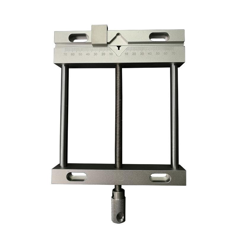Alliage d'aluminium cnc plat Vice 170 * 198mm pinces vis précision parallèle-mâchoire Fraiseuse Perceuse d'établi étau QGG Fixture