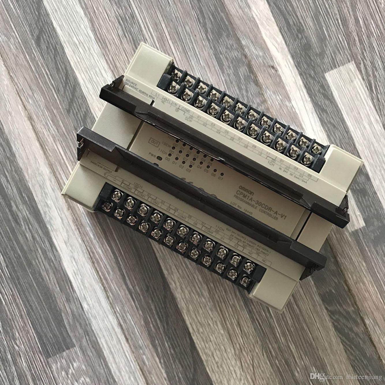 Omron PLC CPM1A-30CDR-A-V1 бесплатная ускоренная доставка CPM1A30CDRAV1 новый в коробке