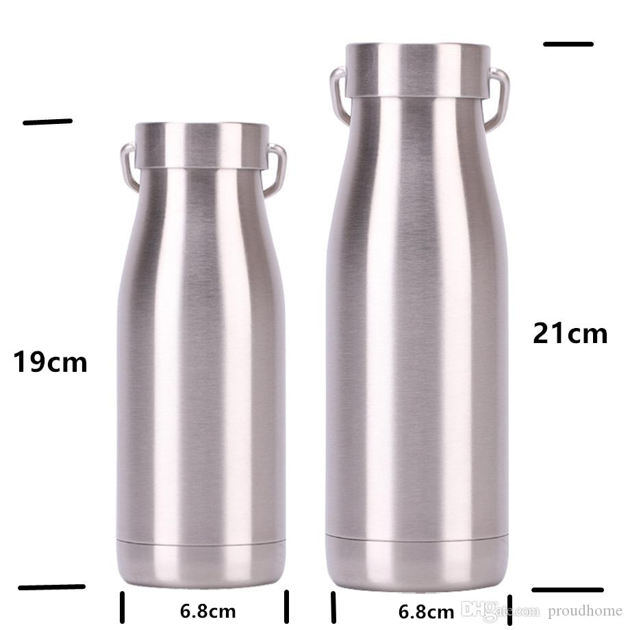 17OZ Stainless Steel Double Wall Vacuum Thermos Insulated Flask Mug Travel Cup