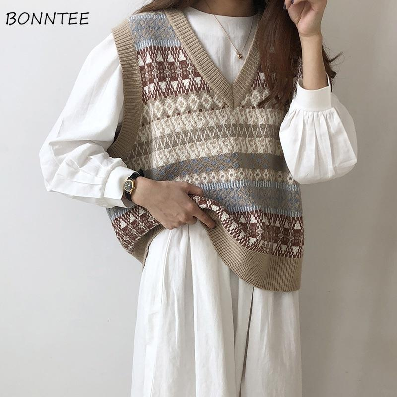Women/'s Vintage sweater Vest