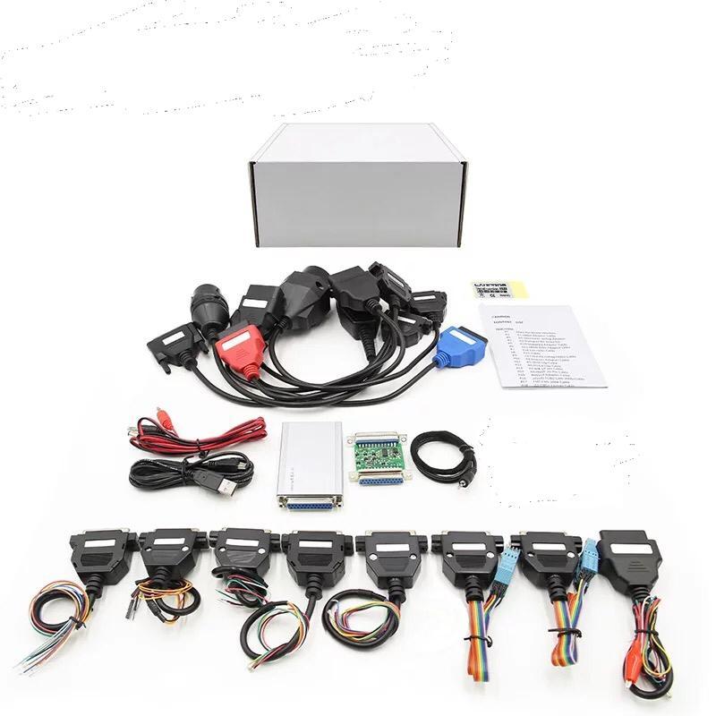 Neueste V8.21 V10.93 VOLLES Adapter Auto Prog 8,21 mit keygen Online Programmer Für Radio / Dash / IMMO / ECU Auto-Reparatur-Werkzeug