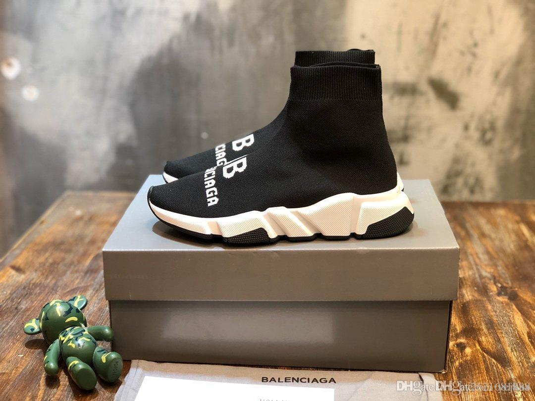 scarpe calzino casuali degli uomini e donne scarpe da ginnastica pantofola piattaforma aerea basket sandalo Kanye tripla epoca Espadrillas sandalo diapositive pattini pigri