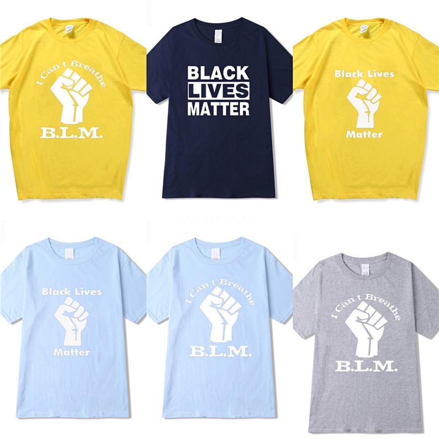 Eu não posso respirar! Homens do designer camisetas de manga curta T-Shrits Big Size Moda 100% T-shirt de algodão Wear Homens Moda Sports Coccer Bola Cas # 35
