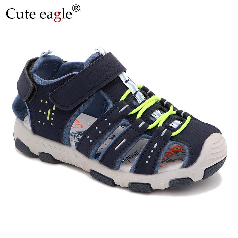 tamaño de la playa del verano sandalias de las muchachas de los muchachos y de las muchachas niños de la marca de las sandalias de la escuela de verano zapatos deportivos nuevos niños de 25 a talla 36 CX200612
