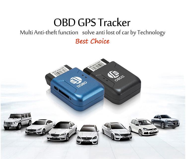 OBD2 GPS Tracker TK206 OBD 2 in tempo reale GSM Quad Band Anti-Fect Allarme vibrazione GSM GPRS Mini GPRS Tracking OBD II Auto GPS