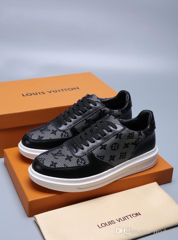 21ss 2020 luxo MEN lona sapatos respirável resistentes ao desgaste SHOES jeans confortáveis Rodada Toe tênis Laço-acima tênis Alpercatas planas MADAL