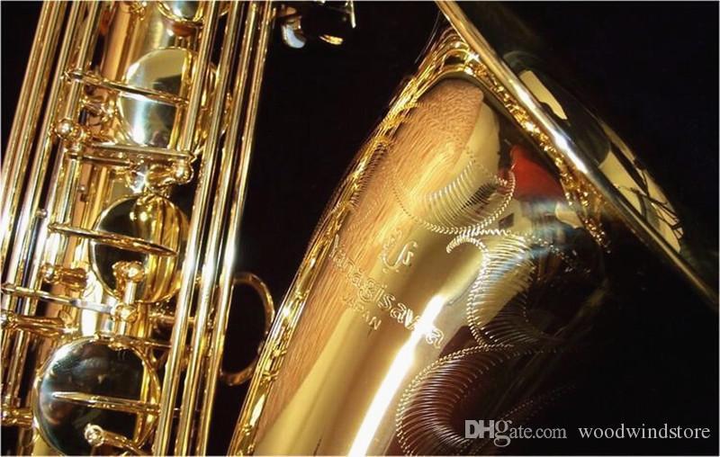 Professionale Sax Giappone Yanagisawa LOGO T-902 Bb Tenor Saxophone alta qualità in ottone placcato oro B Flat strumento di musica con il caso Bocchino