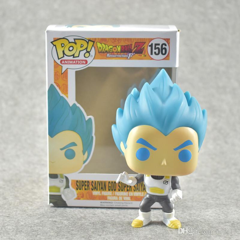 Super Saiyan God Goku Vegeta PVC Vinyl Action Figure Dragon Ball Z Funko POP