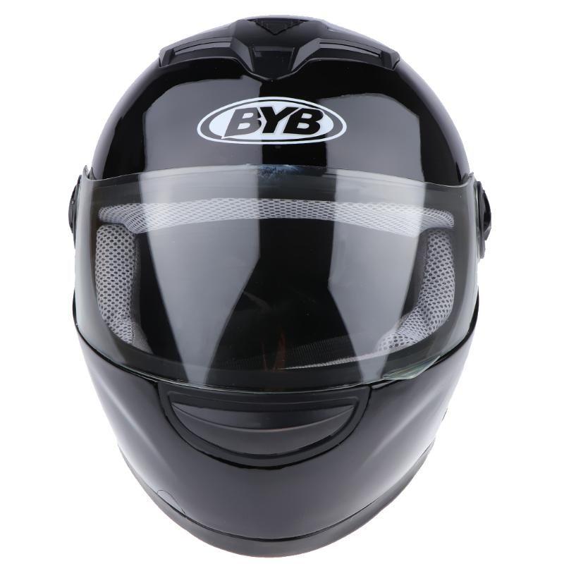 Warm-garde anti-buée facial Casque de moto pour hommes / femmes