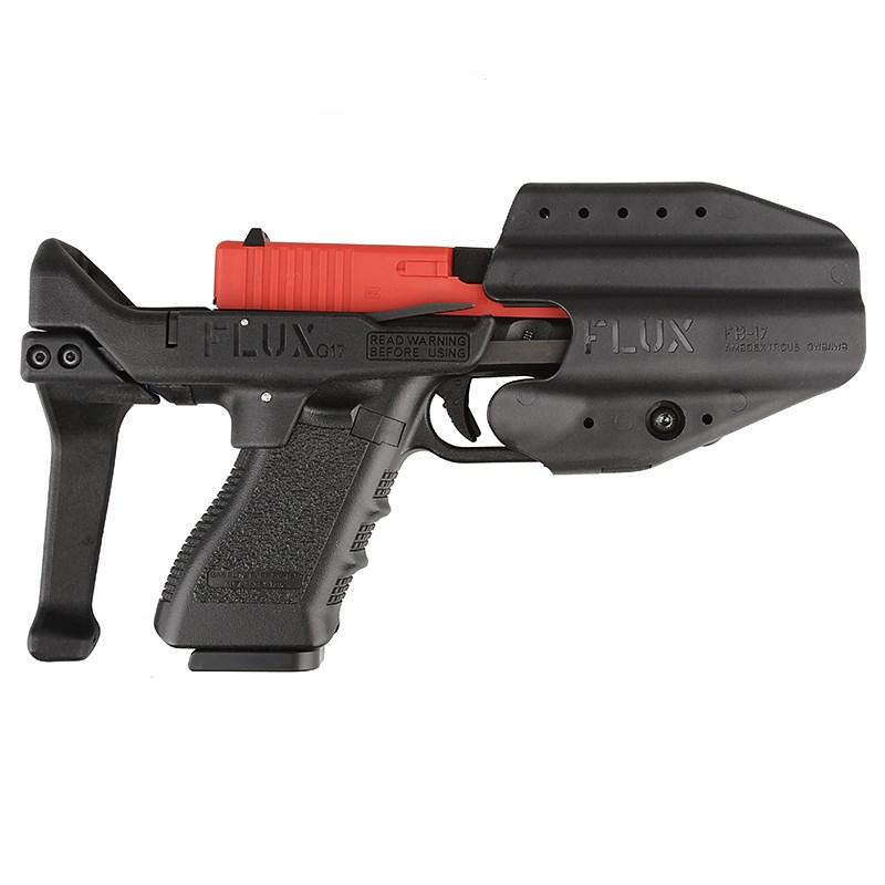 التكتيكية هدفين الادسنس روني لعب مسدس g17 كاربين تحويل عدة ل gloc / g17 سلسلة النايلون جعل لعبة البنادق الملحقات