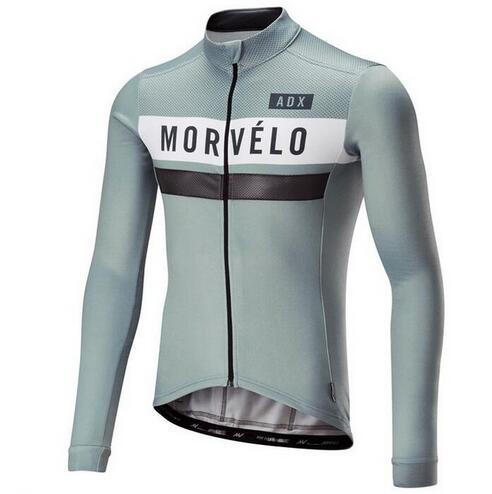 2018 Retro Morvelo Männer Jersey- Langarmtrikot Roap Ciclismo Radfahren Kleidung Fahrrad-Fahrrad-Zyklus Kleidung