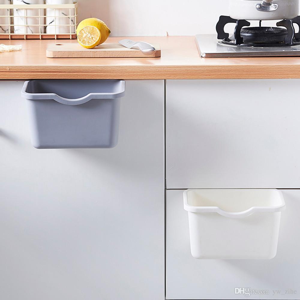 Kitchen Hanging Garbage Fruit Cabinet Door Trash Can Storage Box NEW TYPE