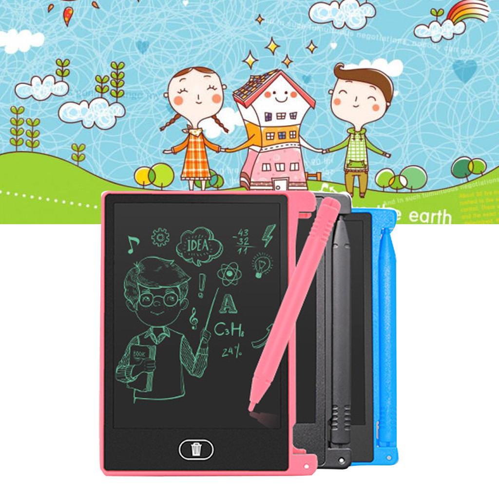 4,4 pouces Dessin Tablette d'écriture pour les enfants Les enfants Bloc-notes graphique LCD numérique Conseil Bulletin Board Handwriting