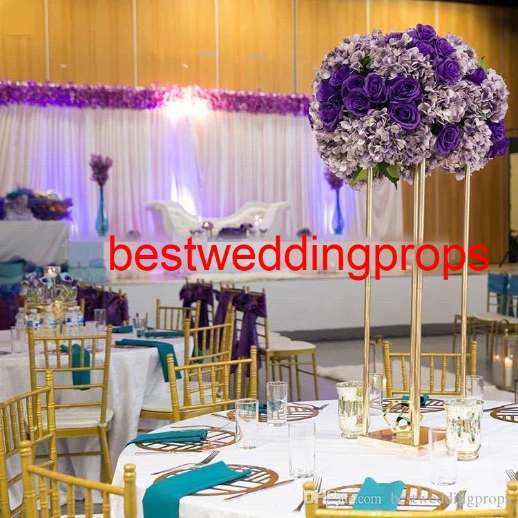 Yüksek kalite sıcak satış zarif düğün sahne düğün dekorasyon için best01171 için koridor demir demir ayağı