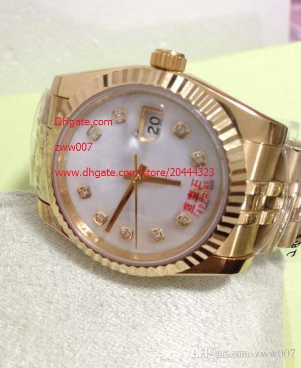 Di trasporto del fornitore della fabbrica dello zaffiro 36mm 228236 orologi da polso Watch Watches signore diamante automatico degli uomini della Mens meccanico