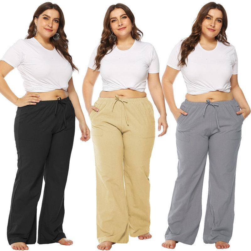 2019 Plus Size Csual Women Pant Hot New Flare Pant Fashion Loose Trousers  From Wuarray, $11.54 | DHgate.Com