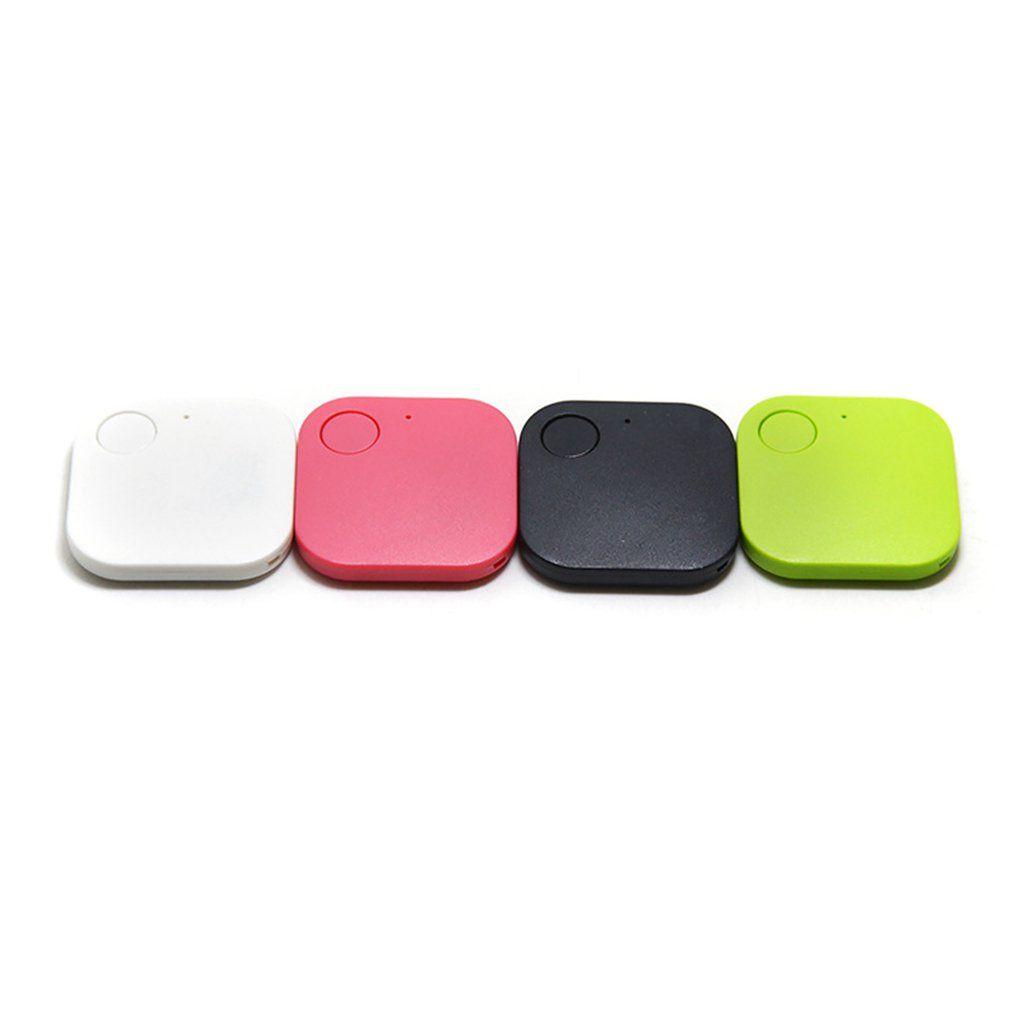 Dispositivo Dispositivo quad-Square inalámbrica anti-perdida Rastreador Localizador de objetos-Buscador Rastreador de dos vías de alarma anti-perdida Inicio Artículos para mascotas Jardín