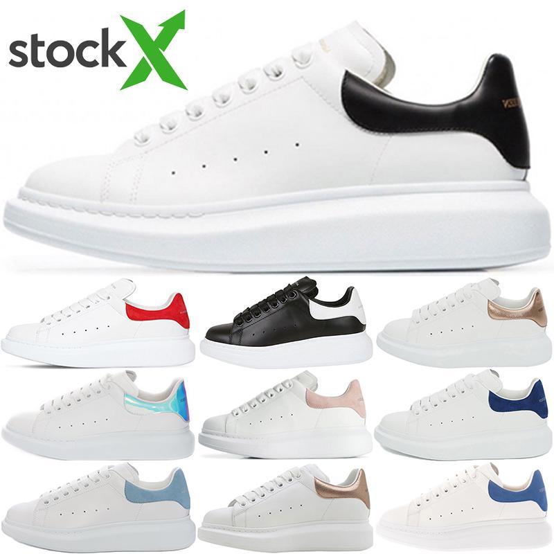 Box ile En kaliteli 2020 Kadife Siyah Erkekler Kadın moda Chaussures Ayakkabı Platformu Casual Sneakers Erkek Kadın Deri Dantel Yukarı ayakkabı