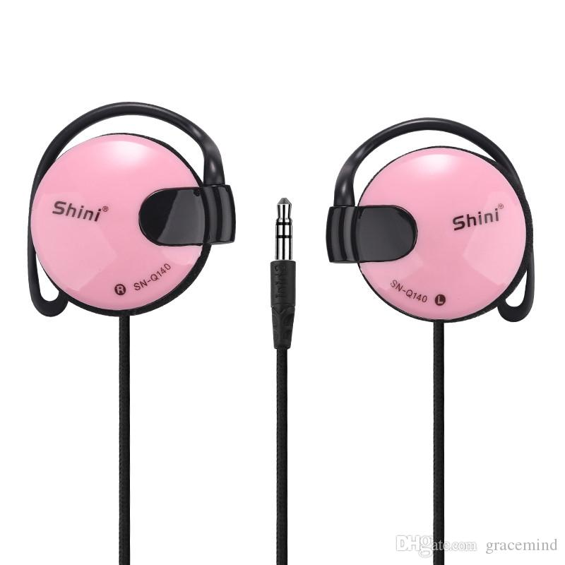 Super Bass Headphones Stereo Earphone Hifi Ear Hook Headset Without Microphone for Media Player 5 Colors
