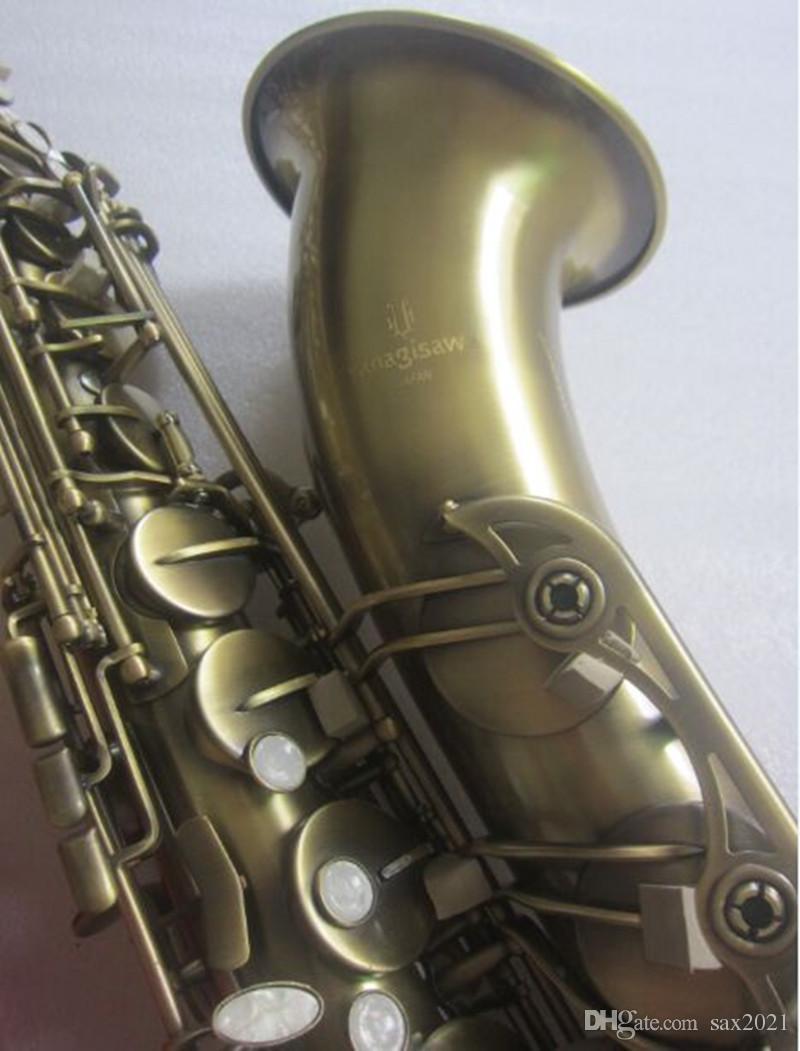 YANAGISAWA T-992 sassofono tenore di alta qualità strumento musicale ottone antico rame superficie tono bb Sax con custodia bocchino