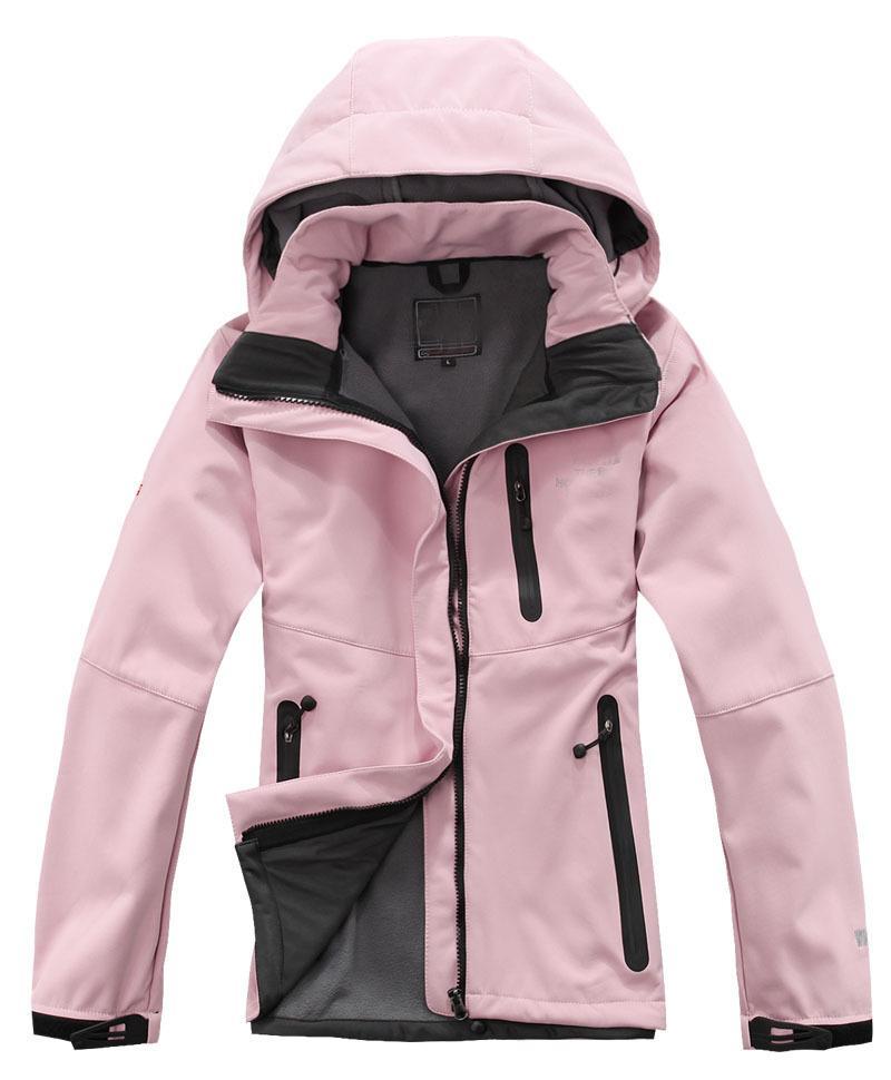 Оптово-женщины севера Softshell куртка лицо пальто Мужчины На открытом воздухе Спорт пальто женщин Лыжный Туризм ветрозащитный Зимний Outwear Soft Shell куртка